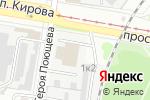 Схема проезда до компании Ник авто в Нижнем Новгороде