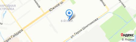 Мульти-Мастер на карте Нижнего Новгорода