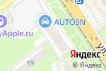 Схема проезда до компании Дамский соблазн в Нижнем Новгороде