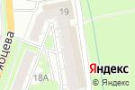 Схема проезда до компании TransGalPro в Нижнем Новгороде