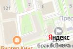Схема проезда до компании Granart в Нижнем Новгороде