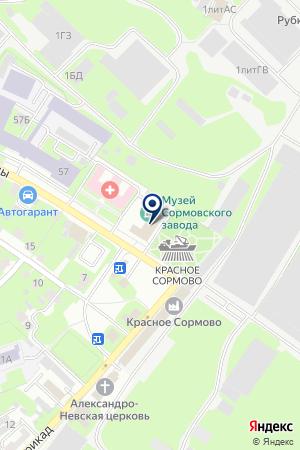 ПКФ ПОЛИТЕХНИКА на карте Нижнего Новгорода