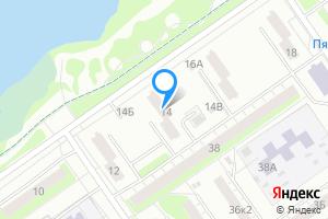 Снять однокомнатную квартиру в Нижнем Новгороде микрорайон Северный, ул. Пермякова, 14