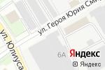 Схема проезда до компании Эксито в Нижнем Новгороде