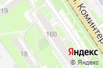 Схема проезда до компании Магазин разливны напитков в Нижнем Новгороде