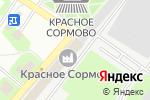 Схема проезда до компании БИТ комплект в Нижнем Новгороде