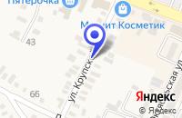 Схема проезда до компании КАЗАНСКАЯ ЦЕРКОВЬ в Зеленокумске