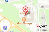 Схема проезда до компании Альянс в Нижнем Новгороде