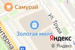 Схема проезда до компании JUMBI в Нижнем Новгороде