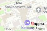 Схема проезда до компании V.Fabbiano в Нижнем Новгороде