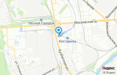 Местоположение на карте пункта техосмотра по адресу г Нижний Новгород, ул Кузбасская, д 1Ж