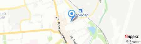 Воскресная школа на карте Нижнего Новгорода
