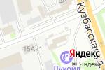 Схема проезда до компании Кафе-закусочная в Нижнем Новгороде