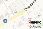 Схема проезда до компании Продуктовый магазин в Кудьме