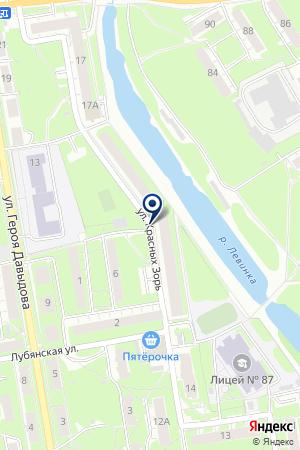 ДЕТСКИЙ САД № 345 на карте Нижнего Новгорода