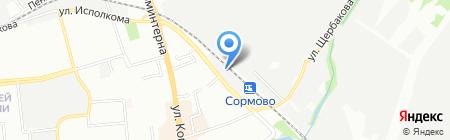 Нижегородская трубная компания на карте Нижнего Новгорода