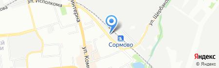 ФедяефТур на карте Нижнего Новгорода