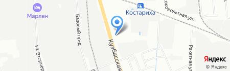 Легион на карте Нижнего Новгорода