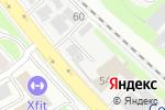 Схема проезда до компании Арсенал в Нижнем Новгороде