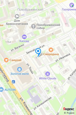 Дом 1 по ул. Белозерская, ЖК Планетарий на Яндекс.Картах