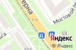Схема проезда до компании TFF52 в Нижнем Новгороде