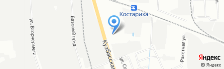 ЛАсМА на карте Нижнего Новгорода