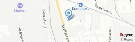 АвтоПрайд на карте Нижнего Новгорода
