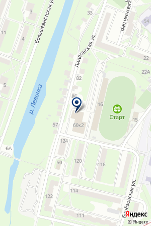 САУНА ЛОТОС на карте Нижнего Новгорода