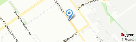 Фантазия на карте Нижнего Новгорода