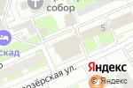 Схема проезда до компании Теле-Порт в Нижнем Новгороде