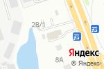 Схема проезда до компании Хино-Авто в Нижнем Новгороде