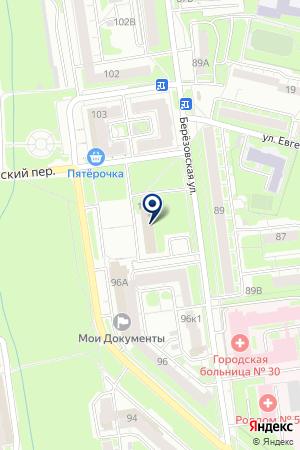ОТДЕЛ ПО УЧЕТУ И РАСПРЕДЕЛЕНИЮ ЖИЛОЙ ПЛОЩАДИ МОСКОВСКОГО РАЙОНА на карте Нижнего Новгорода