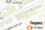 Схема проезда до компании Согласие в Нижнем Новгороде