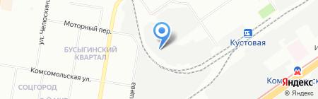 Субару на карте Нижнего Новгорода