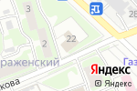 Схема проезда до компании Хлеб в Нижнем Новгороде