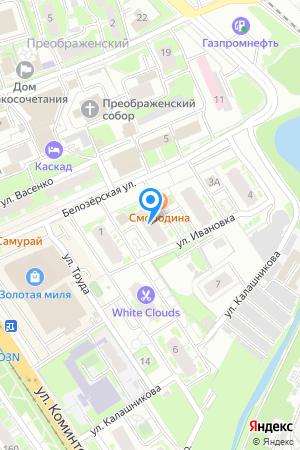 Дом 2 по ул. Белозерская, ЖК Планетарий на Яндекс.Картах