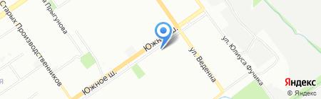 Дуэт на карте Нижнего Новгорода