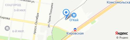 МСК-Контракт на карте Нижнего Новгорода