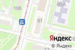 Схема проезда до компании Волга в Нижнем Новгороде