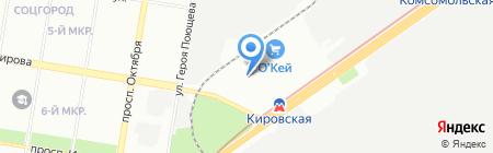 Капитал Медицинское страхование на карте Нижнего Новгорода