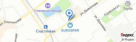 Татьяна на карте Нижнего Новгорода