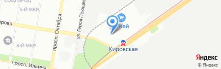 Автошкола Гарант-НН на карте Нижнего Новгорода