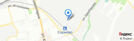 iResto на карте Нижнего Новгорода