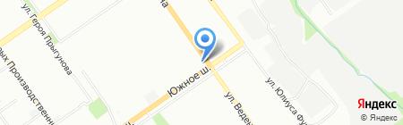 Настена на карте Нижнего Новгорода