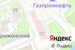 Схема проезда до компании Поликлиника №1 в Нижнем Новгороде