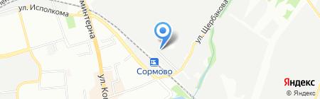 ПК-Центр на карте Нижнего Новгорода