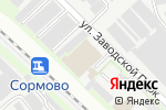 Схема проезда до компании ИнжКомТорг в Нижнем Новгороде