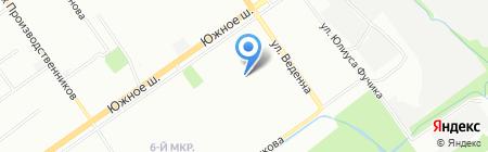 Детский сад №12 на карте Нижнего Новгорода