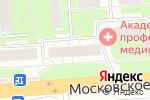 Схема проезда до компании Наш хлебный в Нижнем Новгороде