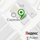 Местоположение компании НижегородМеталл Инвест